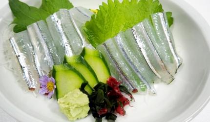 日本魚類漢字「鱵」(針魚)的形象圖