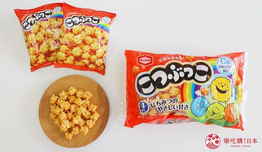 日本必买零食伴手礼龟田小粒米果こつぶっこ外包装