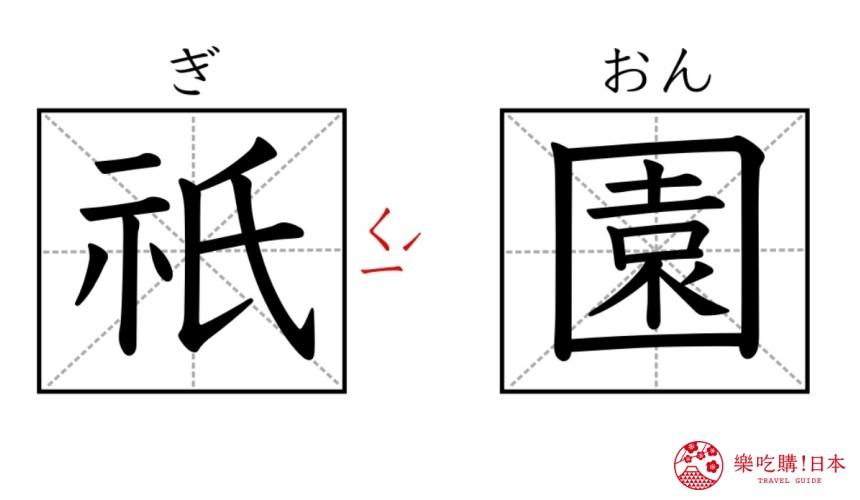 京都自由行必去的「祇园」的日文与中文读音