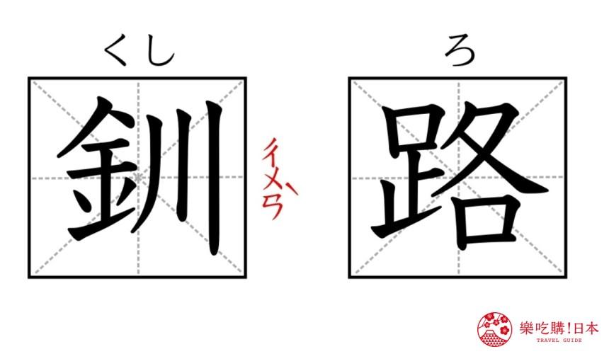 北海道自由行必去的「钏路」的日文与中文读音
