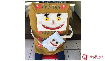 日本妖怪「枕頭妖怪」的形象圖