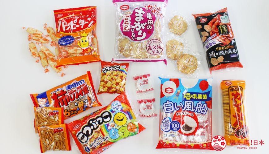 日本必买零食品牌「龟田制菓」7大经典零嘴推荐