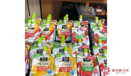 在日本超市可以找到能通便的果汁飲品
