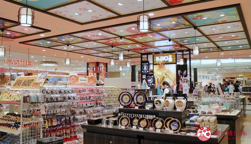 日本買手信伴手禮必去免稅品店LAOX的店內環境