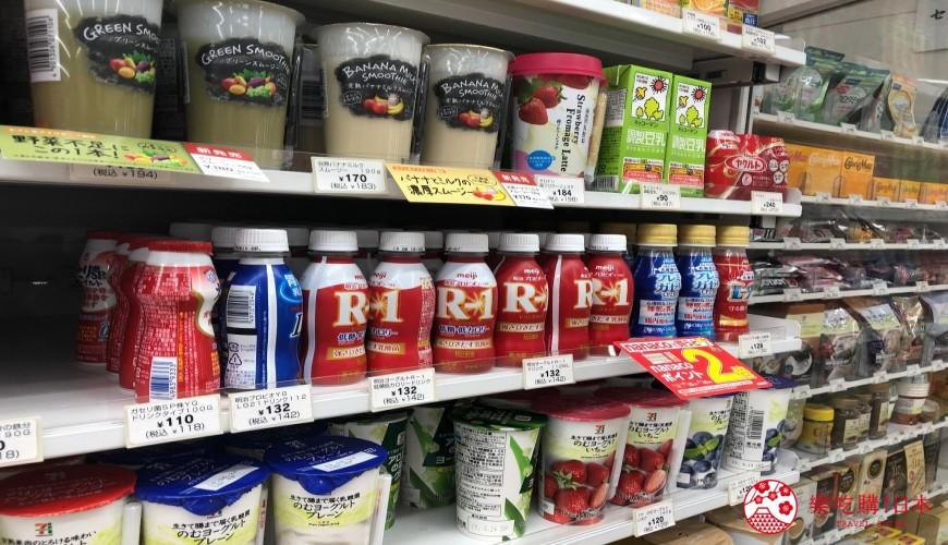 日本便利店的乳酸內飲品