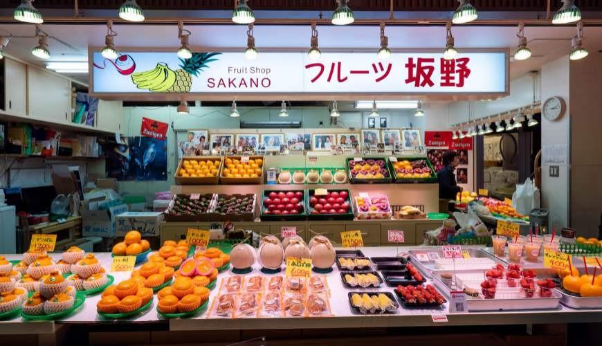 金澤近江町市場的場內環境