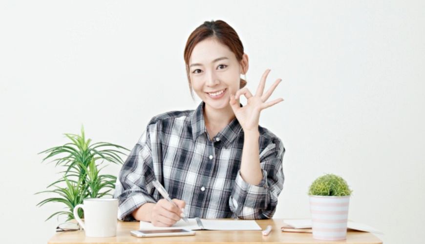 日文單字「大丈夫」(沒問題)的形象圖