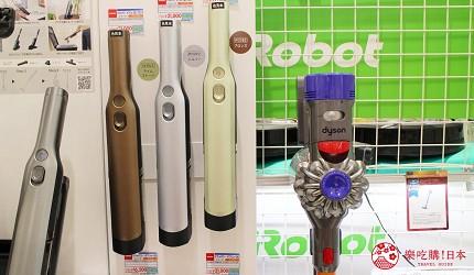 日本代購超人氣商品DYSON吸塵機在LAOX店內被陳列出來