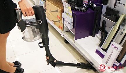 日本LAOX有售的Shark ION可彎把手吸塵機