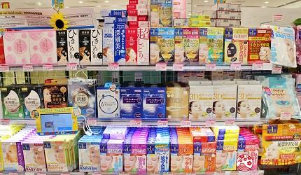 東京台場內的最好買免稅店LAOX內有出售去日本玩必買的伴手禮手信面膜