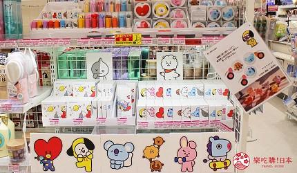 韓國人氣團體BTS防彈少年團的相關周邊玩偶BT21商品