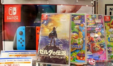 日本超好買的免稅店LAOX內有售的人氣遊戲機SWITCH