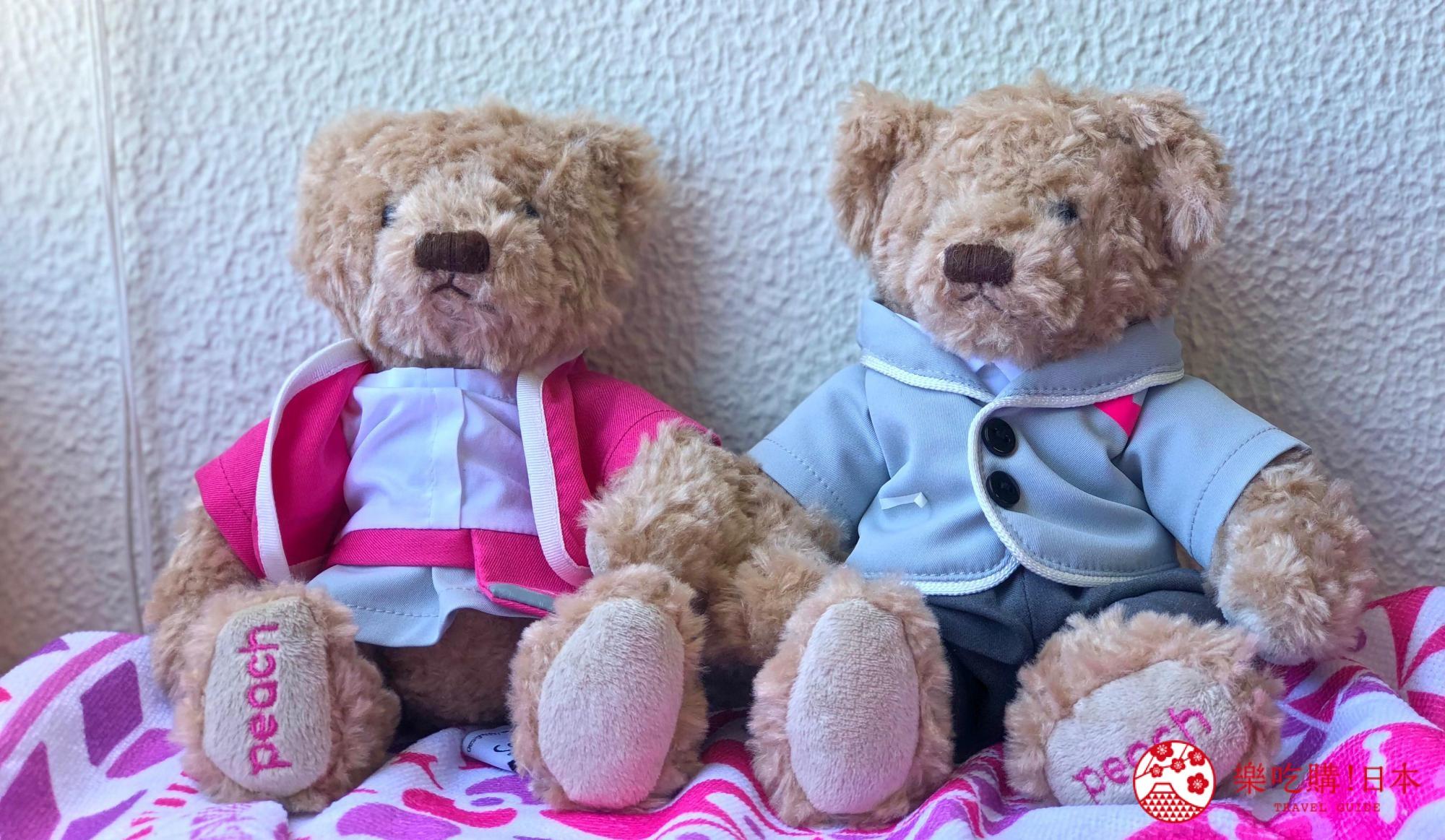 日本樂桃人氣原創設計商品的Peach原創設計CA泰迪熊對熊照片