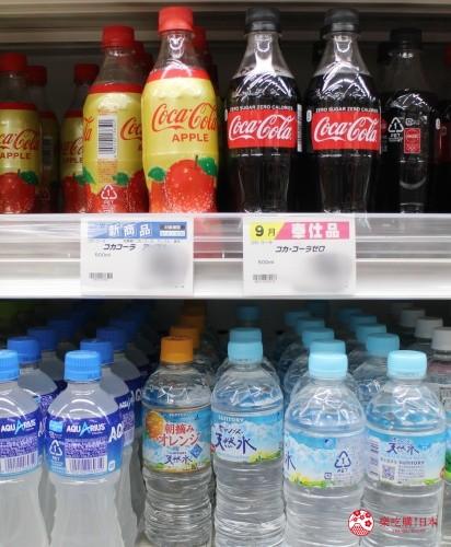 日本適用消費稅8%的水、飲料類