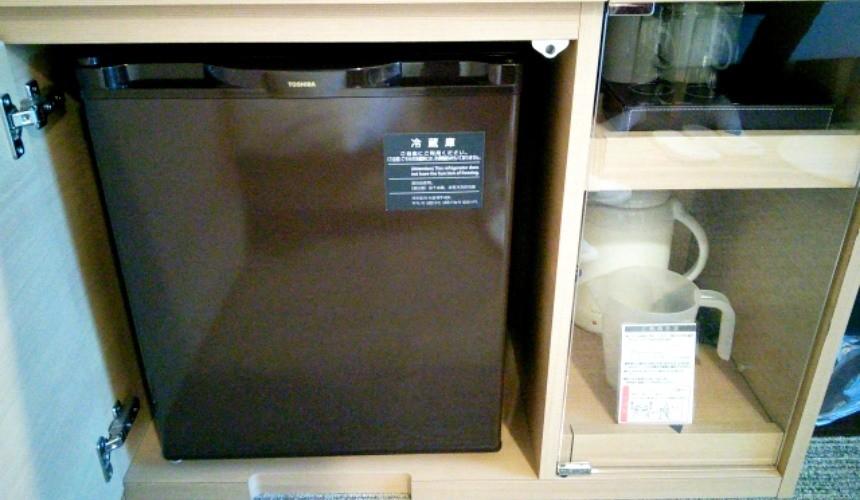 日本適用消費稅8%的服務:飯店冰箱飲料與食物