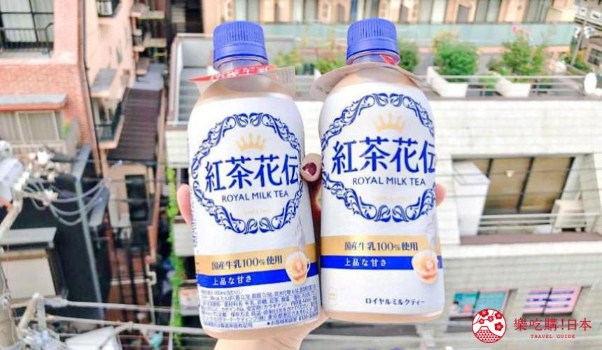 日本「红茶花传」奶茶2019年改版奶茶包装照片
