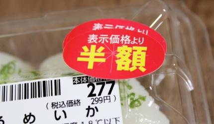 日本購物必學漢字單字「半額」形象圖