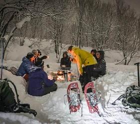 日本有中文教練的滑雪場推介的中文滑雪場Evergreen國際滑雪學校舉辦雪地營會的花絮