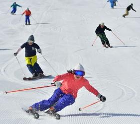 日本有中文教練的滑雪場推介的中文滑雪場GALA湯澤滑雪度假村的滑雪道