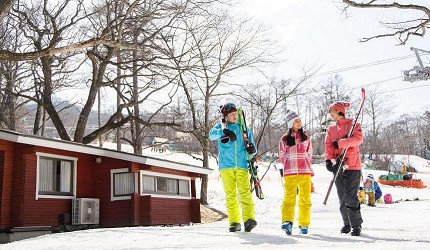 日本有中文教練的滑雪場推介的中文滑雪場輕井澤王子滑雪學校的環境