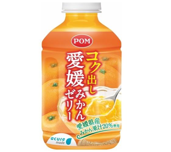 日本「acure」自动贩卖机的爱媛蜜柑果冻饮