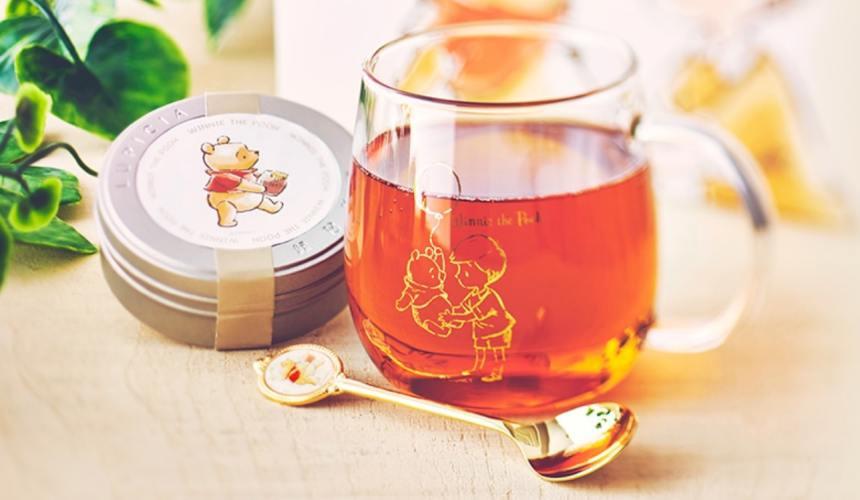 2019冬天日本迪士尼商店推出迪士尼商店限定 LUPICIA 紅茶玻璃杯匙組