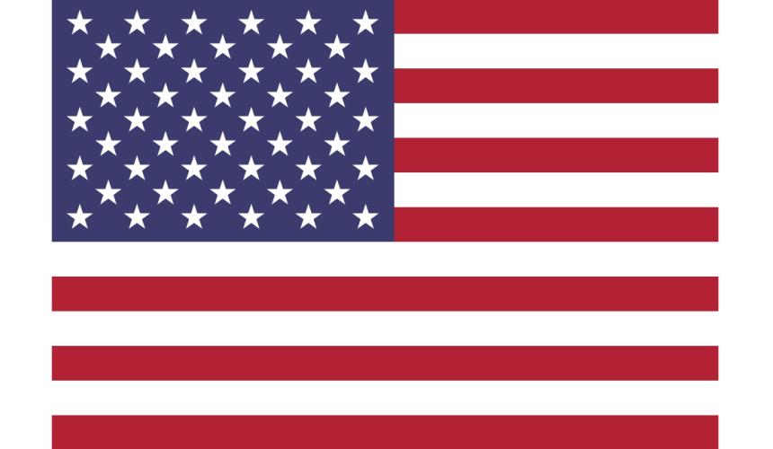 《为什么日文的「美国」叫「米国」?超难懂日语汉字国名你知道几个》文章美国国旗示意图
