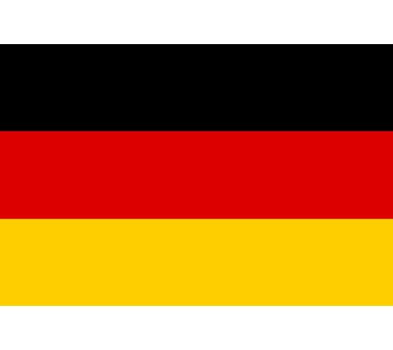 《为什么日文的「美国」叫「米国」?超难懂日语汉字国名你知道几个》的德国国旗示意图