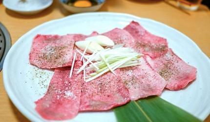 2019日本Tabelog烧肉百名店排行第一名东京和牛烧肉炭烧金龙山盐烧牛舌