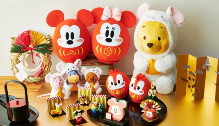 鼠年版「大耳維尼」賣完就沒有!超萌2020干支新品,日本迪士尼商店12月開賣