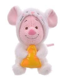 日本迪士尼商店超萌2020干支新品的小豬2020鼠年小娃娃