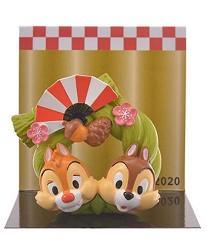 日本迪士尼商店超萌2020干支新品的奇奇蒂蒂小擺飾