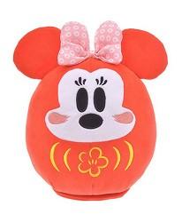 日本迪士尼商店超萌2020干支新品的米妮不倒翁娃娃