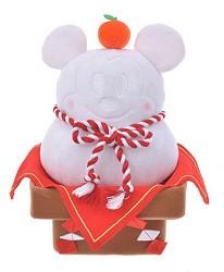 日本迪士尼商店超萌2020干支新品的米奇鏡餅娃娃