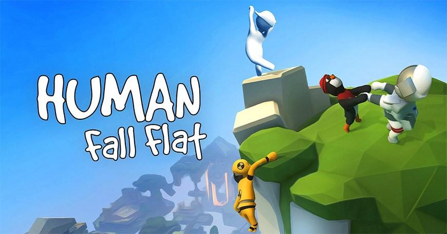 日本2020年4月手遊必玩《Human:Fall Flat》(人類:一敗塗地)形象圖一