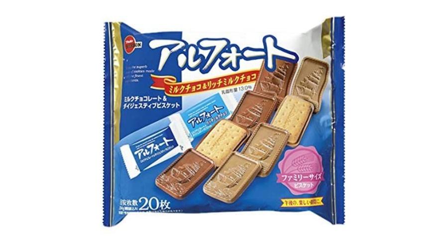 日本巧克力推薦必買Bourbon北日本帆船巧克力餅乾