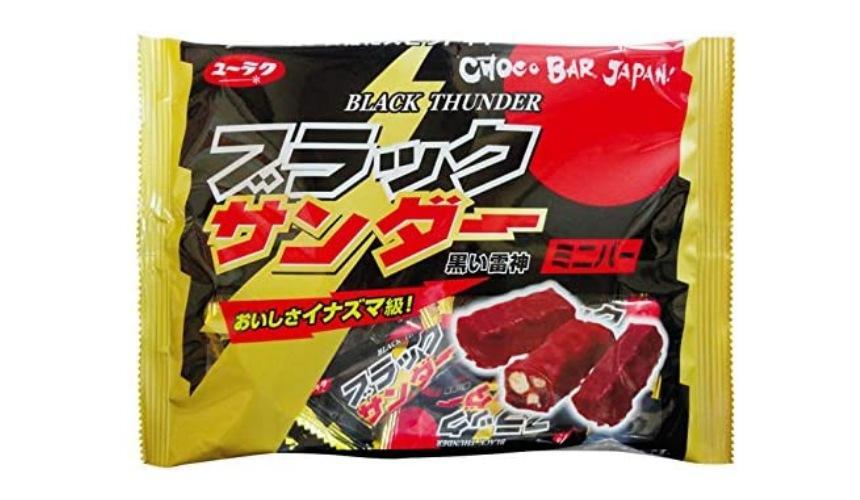 日本巧克力推薦必買有樂製菓雷神巧克力