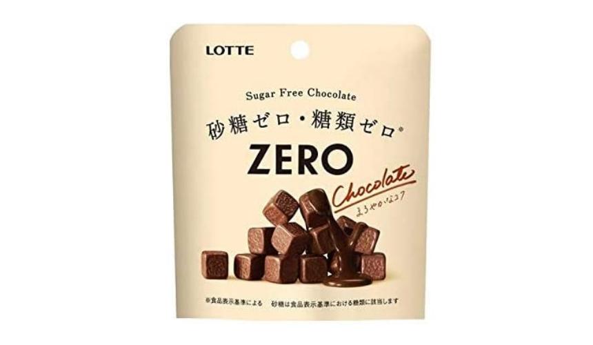 日本巧克力推薦必買lotte牛奶巧克力zero