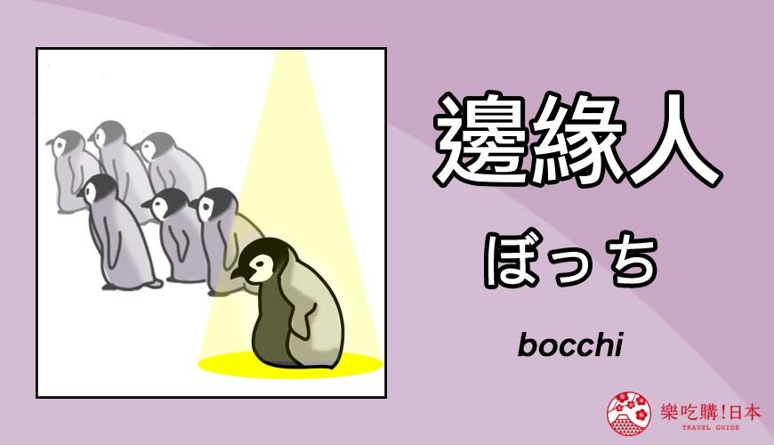 邊緣人日文