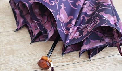 2021母親節禮物推薦日本小宮商店甲州織折疊晴雨傘
