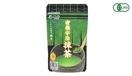 日本網購必買綠茶抹茶甜點森半有機宇治抹茶粉