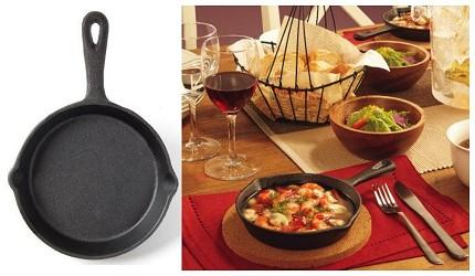 日本名廚也愛用無印良品及宜得利10款實用平價廚具推薦的宜得利廚房用品鑄鐵鍋