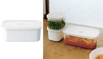 日本名廚也愛用無印良品及宜得利10款實用平價廚具推薦的無印良品廚房用品密閉式琺瑯保存容器