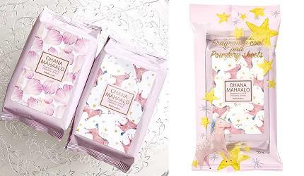 日本人夏天止汗法寶11款日本潔膚涼感抗菌濕紙巾ohanamahaalo輕香水香氛潔膚濕紙巾