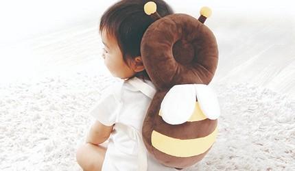 2020彌月禮物推薦日本嬰兒用品10選新生寶寶最合用學步期隨身小夥伴阿卡將嬰兒防護枕背包的示意圖