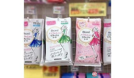 日本人夏天止汗法寶11款日本潔膚涼感抗菌濕紙巾biore妝容keep潔顏濕巾