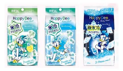 日本人夏天止汗法寶11款日本潔膚涼感抗菌濕紙巾mandomhappydeo極涼濕紙巾