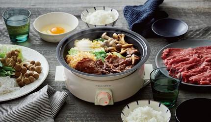 宅在家也能吃美食日本10款超人氣料理家電廚房煮食推薦小巧易用輕鬆辦桌的recolte Tanto調理鍋