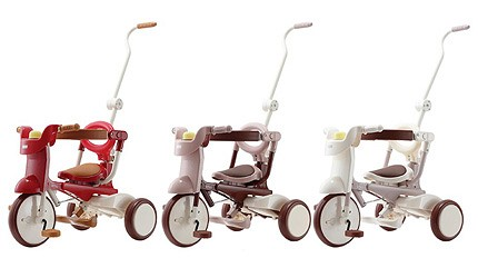 2020彌月禮物推薦日本嬰兒用品10選新生寶寶最合用成就每個小孩的單車夢上路超吸睛日本iimo折疊式三輪車的三款車