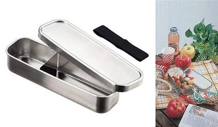 日本製便當盒必買推薦AIZAWA經典不鏽鋼便當盒